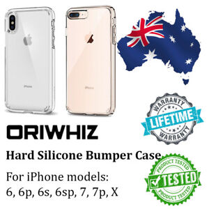 iPhone 6 S plus 7 8 X XR XS Max Case, Genuine ORIWHIZ Thin HARD Cover for Apple
