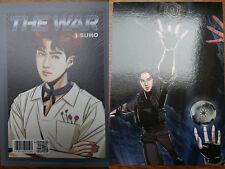 EXO Suho The War Postcard Photocard
