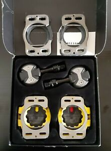 SUPERB CONDITION! Speedplay ZERO Chromoly Walkable Road Pedals