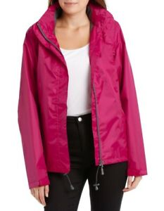 PALAZZI Delta Waterproof packable jacket with taped seams (Red) (Size 12)