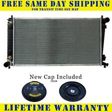 2 Row Radiator & Cap For Ford Lincoln Fits Expedition Navigator 4.6 5.4 2136WC