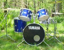 Vintage Yamaha 5000 pre recording drum set - orig. 80ties Silky Blue