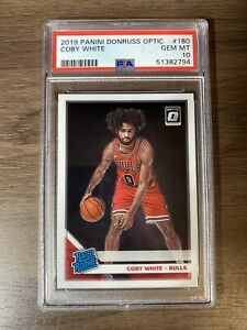 2019 Panini Donruss Optic Coby White Rated Rookie RC #180 PSA 10