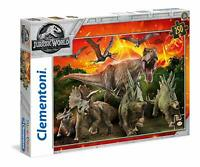 Clementoni - 29752 - Supercolor Puzzle - Jurassic World - 250 Pièces
