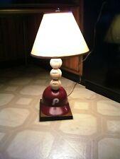 """Vintage 28"""" 1970's  Philadelphia Phillies Baseball & Helmet Display Lamp WORKS!"""