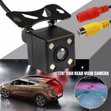 170 Degree Car Rear View Camera Parking Assistance CCD LED Backup Light #X