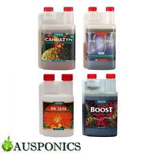CANNA NUTRIENTS (4x 250ML BOTTLES) PK 13/14 + CANNAZYM + RHIZOTONIC + BOOST