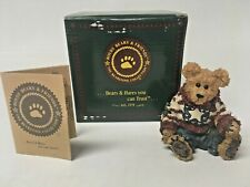 """Boyds Bears & Friends """" Eddie.Proud To Be A Bearmerican """" 22Nd Edition"""