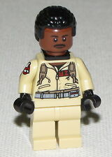 Lego New Ghost Busters Dr. Winston Zeddemore Minifigure From Set 75827 Firehouse
