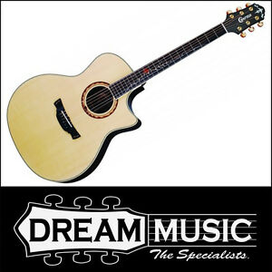 Crafter SR-Rose PLUS Natural Gloss Electro Acoustic with Case RRP$1399