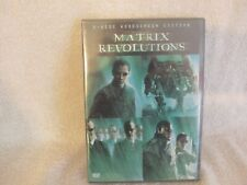 The Matrix Revolutions 2-Disc Widescreen Edition New Factory Sealed.