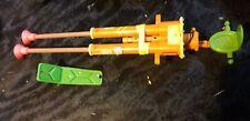 Double Barreled Plunger Gun  Shield Parts Only Teenage Mutant Ninja Turtles 1989