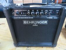 Behringer GM108 Modeling Guitar Amplifier, Good Working Order Stock #PA03