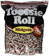 TOOTSIE ROLL MIDGEES 760 PCS 80 OZ  SEALED BAG