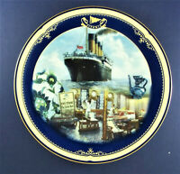 THE TURKISH BATH Plate Titanic: Queen of the Ocean #9 James Griffin Bradford COA