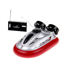 Mini RC Boat 4CH Electric Radio 6M Remote Control Range Micro Hovercraft Toy Gif