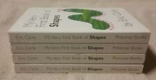 Lot of 4 MY VERY FIRST BOOKS OF SHAPES Board Books ERIC CARLE Guided Reading GUC