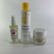 DERMA E Vitamin C Intense Night Cream Micellar Cleansing Water Nourshing Rose