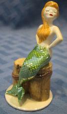 Hagen Renaker Specialty Mermaid on Piling, #02092, Made in Usa