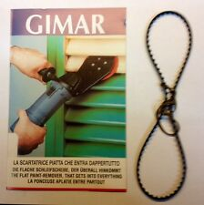 cinghia ricambio per scartatrice levigatrice per persiane GIMAR mm 4 ORIGINALE
