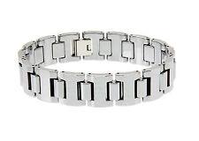Mannen Heren Armband in Tungsten carbide Wolfraam Super Heavy