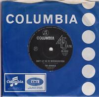 "THE ANIMALS - Don't Let Me Be Misunderstood - Original 1965 Australian 7"" single"