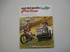 advertising Pubblicità 1974 PIAGGIO BOXER 50