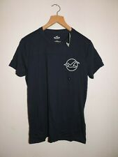 Hollister Logo T-Shirt Navy Size Small rrp £19 DH004 ii 14