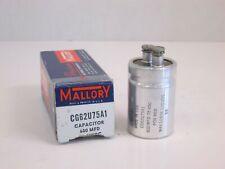 Mallory Capacitor 600 MFD CG62U75A1