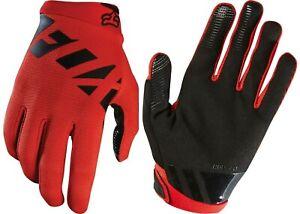 Fox Racing Mens NEW Ranger Racing Mountain BikeGloves BRIGHT RED MTX- MEDIUM