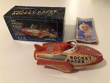 Mini Rocket Racer Space Robot Car Masudaya Japan Neu Friction Tin Blech