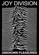 JOY DIVISION ~ UNKNOWN PLEASURES ~ 24x36 Music Poster ~ NEW/ROLLED!
