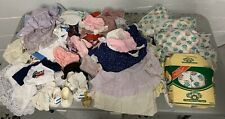 Lot Of Vintage Cabbage Patch Doll Clothes, Shoes, Diapers, Accessories