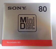 NEW  SONY Blank Mini Disc 80min