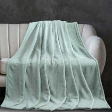 Monte & Jardin, Etched Ribbed Ultra Soft Velvet Blanket (Choose Size + Color)