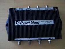 Channel Master 6214IFD 3 x 4 Output Multi Switch with Power Pack