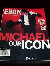Ebony 2009 magazine MICHAEL JACKSON COVER - MICHAEL - OUR ICON - NEW