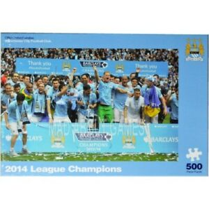 Official MANCHESTER CITY FC Puzzle 500pcs SEALED Jigsaw gift football mens boys