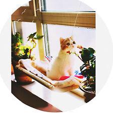 Lavable Montaje de Ventana Gato Cama Hamaca Colgando Cama Nido mascota descansar Sunny Seat