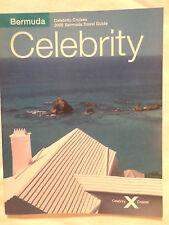 mv Zenith . Celebrity Cruises 2006 Brochure Deck Plans Ship Boat Bermuda Guide