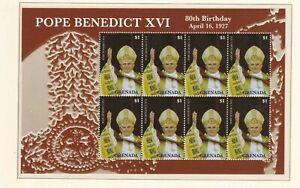 Grenada 5850 ** KLB PAPST BENEDIKT XVI POPE BENEDICT XVI  80. GEBURTSTAG