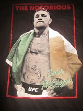 NWT THE NOTORIOUS CONOR McGREGOR UFC Black XXXL T-Shirt Irish