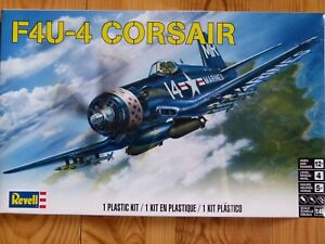 Revell Monogram 1:48 F4U-4 Corsair Aircraft Model Kit