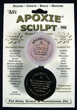 Aves Apoxie Sculpt Pink 2-Part Self-Hardening Modeling Compound 1/4 lb