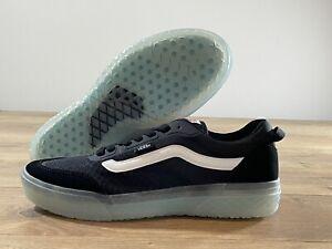 Vans DSTNCT UW Shoes Black/True White Men's SZ 9 ( VN0A5DY46BT )