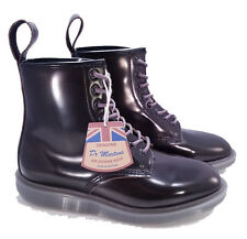 Dr. Martens Doc MIE England Grey Arcadia Leather Whiton Boots UK 8 US 9