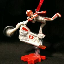 New Disney Toy Story 4 Christmas Ornament Duke Caboom daredevil motorcyle