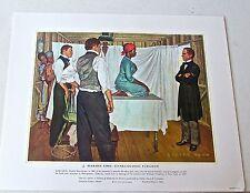 Medical Art  J Marion Syms  Gynecologic Surgeon Vintage Print 16x13
