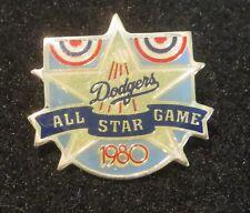 ☆ RARE 1980 Los Angeles DODGERS Stadium ALL STAR GAME Lapel Pin ENAMEL