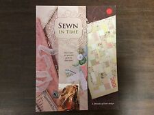 """BOOKLET """"SEWN IN TIME """"  by LYNNE WILSON  FAT QUARTER QUILT IN 4 SIZES"""